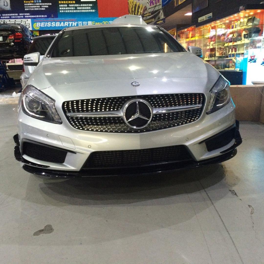 Zderzak przedni Mercedes Benz W176 13- AMG Style - GRUBYGARAGE - Sklep Tuningowy